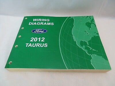 2012 Ford Taurus Wiring Diagrams Service Manual Oem Ebay