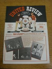 14/09/1983 Manchester United v Dukla Prague [European Cup Winners Cup] (Team Cha