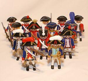 PLAYMOBIL-soldat-napoleonien-armee-de-Napoleon-14-personnages-au-choix
