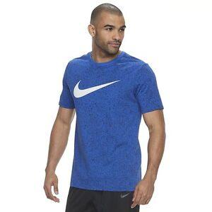 83a50cc8 Details about NWT Men's Nike Big & Tall Dri-FIT Dry Core BM 1 Basketball  Tee Shirt T-shirt Bl
