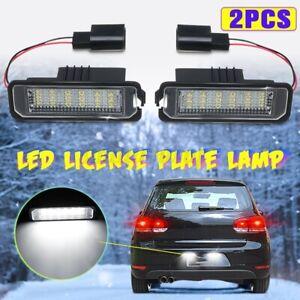 2 PCS LED Kennzeichenbeleuchtung Für VW Für Golf 4 6 Für Passat B6 Lupo Polo 9N