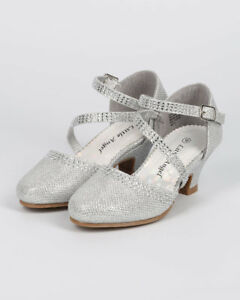 934e9b8df3 New Girl Little Angel Daphne-856 Glitter Shimmer Rhinestone Mary ...