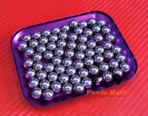 "12.7mm 1//2/"" QTY 10 Loose Bearing Ball Hardened Carbon Steel Bearings Balls"