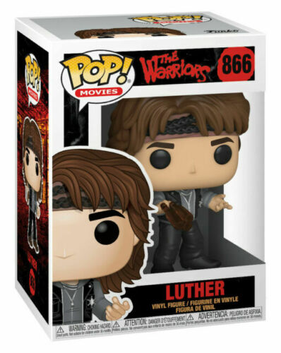 FUNKO POP LUTHER 866 44845 VINYL FIGURE NEW IN STOCK THE WARRIORS MOVIES