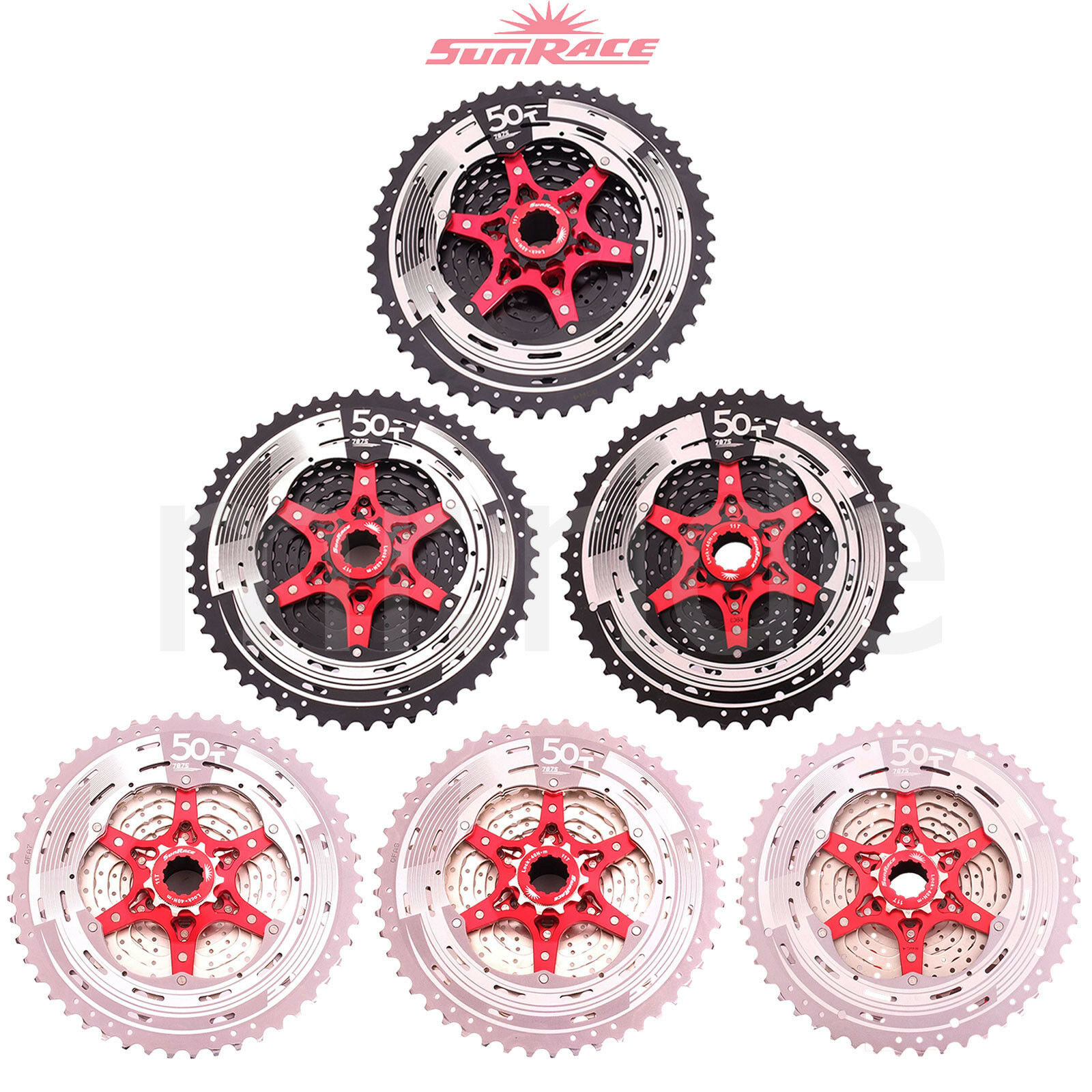 SunRace CSMX80,CSMZ90 11-50T Cassette 11 12 Speed for Shimano Mountain Bike