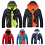Casual-Men-Winter-Solid-Hooded-Thick-Padded-Jacket-Zipper-Outwear-Coat-Warm-Lot thumbnail 3