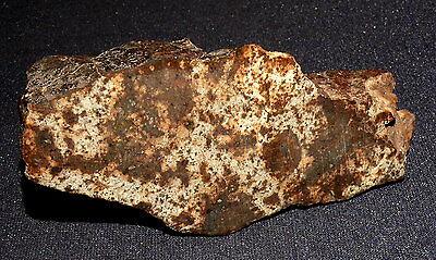 Scheibe Stein-meteorit Nwa, Unklass., Heilstein, 95x44x14mm 117,8g