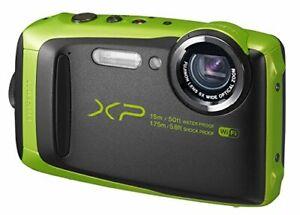 Fujifilm Digital Camera Xp90 Waterproof Lime Fx-Xp90Lm