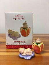Hallmark 2016 Pansy Tulip Baby Fairy Messengers #2 in Series NIB Keepsake Xmas