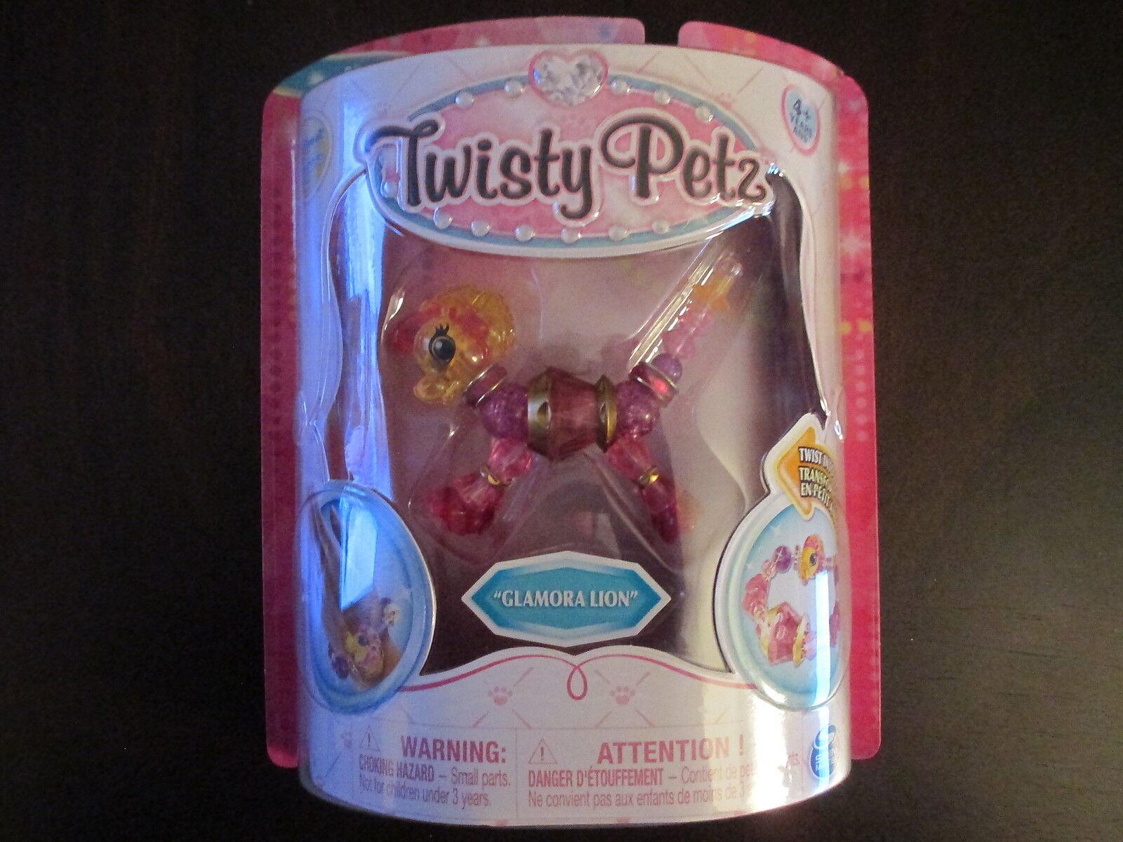 Twisty Twist Petz Series 1 Glamora Lion Twist Twisty Pet Bracelet NIP Fast Shipping 2be7ce