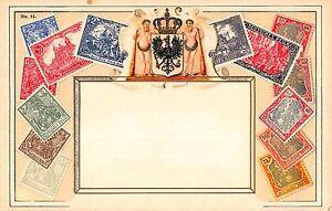 Stamp-Card-Postcard-Showing-Deutsches-German-Reich-Postage-Stamps-107969