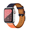 Apple-Watch-Cortex-Double-Circle-Watchband-for-38mm-42mm-Wristband-Single-Turn thumbnail 1