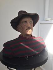 Extremely Rare! Nightmare on Elm Street Freddy Krueger Lifesize Talking Bust