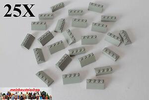 LEGO Bau- & Konstruktionsspielzeug Neu 10 Teile Lego Alte Dunkelgrau Dach Steine 2x4 3037