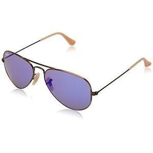 b9fd9475d7 Ray-Ban Aviator Large Metal Flash Blue Mirror Sunglasses Rb3025 167 68 55