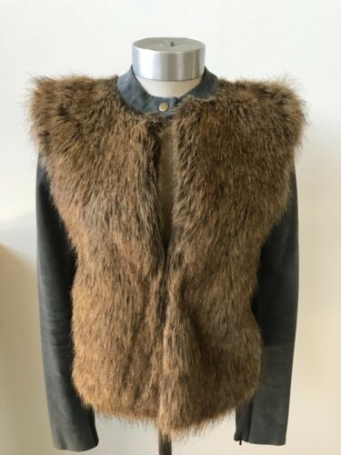 Fur By Vincent Street suede Faux Small Size Twelfth 2 Cynthia Jacket wFq755X