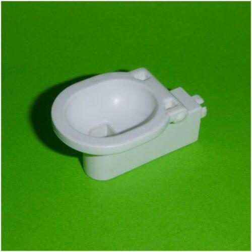 weiß Ersatzteil WC Toilette ohne Deckel Playmobil