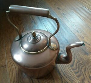 Collectable-Vintage-Large-Copper-Kettle