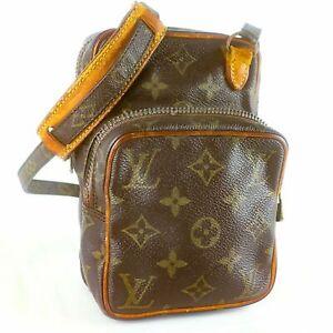 LOUIS-VUITTON-MINI-AMAZON-Crossbody-Shoulder-Bag-Purse-Monogram-M45238-Brown