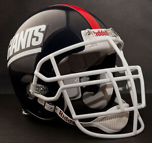 LAWRENCE-TAYLOR-NEW-YORK-GIANTS-Schutt-NJOP-DW-Football-Helmet-FACEMASK-WHITE
