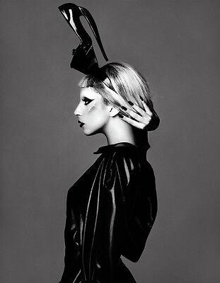"Lady Gaga Rap Music Singer Star Art Wall Fabirc Poster 32/""x24/""  L290"