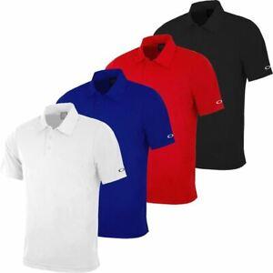 Oakley-Classic-Solid-Colour-Moisture-Management-Mens-Basic-Golf-Polo-Shirt