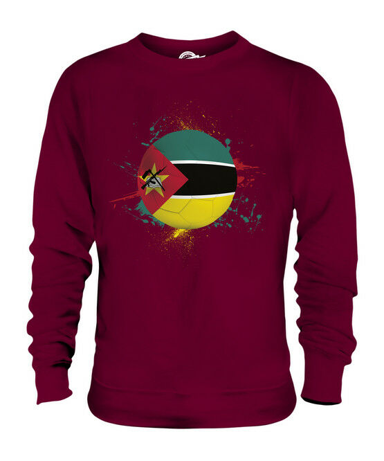 MOZAMBIQUE FOOTBALL UNISEX SWEATER  TOP GIFT WORLD CUP SPORT