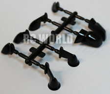 RC 1/10 RC Car SCALE Accessories  SIDE VIEW MIRRORS BLACK  4 Styles Included