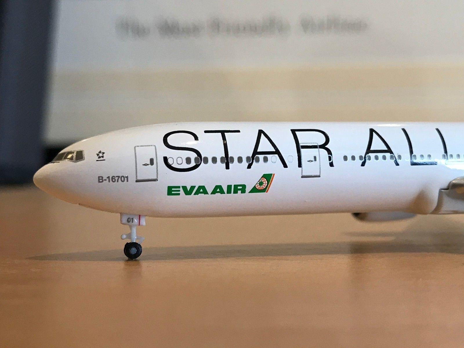 1 500 Hogan EVA Air B777-300ER (B-16701   Star Alliance)