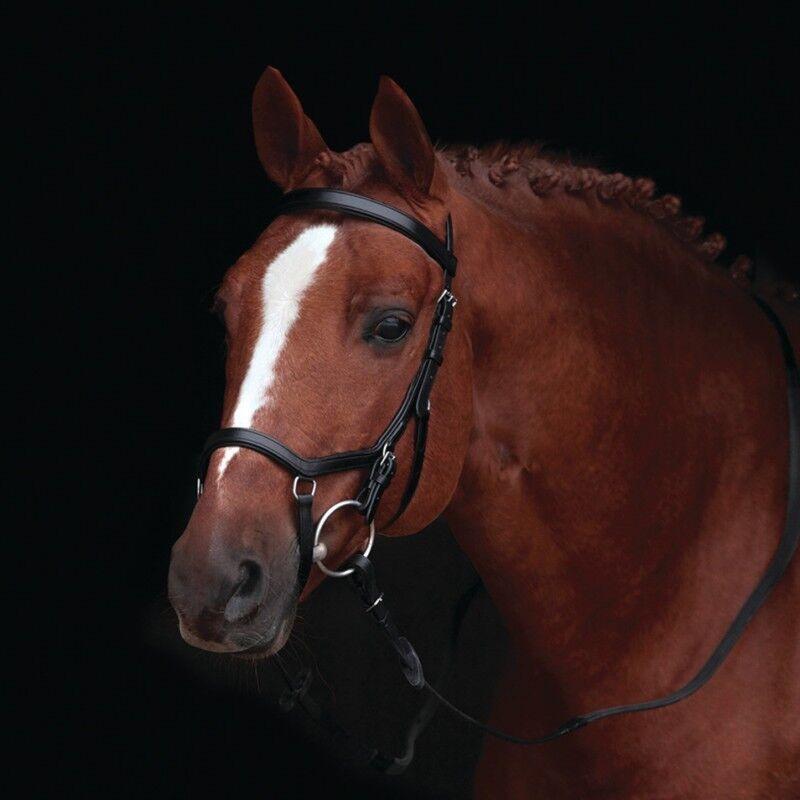 Horseware Rambo micklem original competition Bridle sin riendas-negro-frenillo