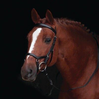 2019 Nuovo Stile Horseware Rambo Micklem Originale Competition Morso Senza Redini-black-trense-