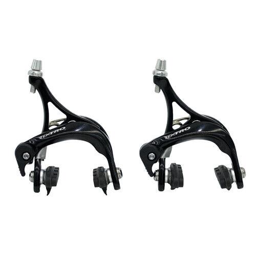 TEKTRO R340 Road Bike Dual Pivot Caliper Brake Set Front+ Rear Black