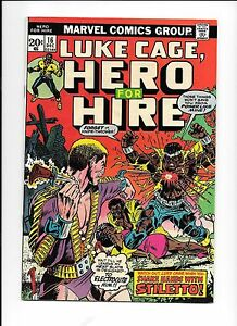 Hero-For-Hire-Luke-Cage-16-December-1973-origin-Stilleto-death-of-Rackham