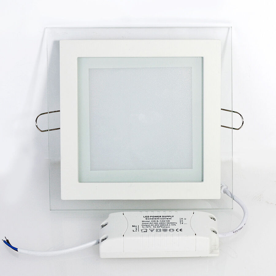 9W-18W LED Recessed Lighting Panel Ceiling Down Light Ultraslim Square Downlight