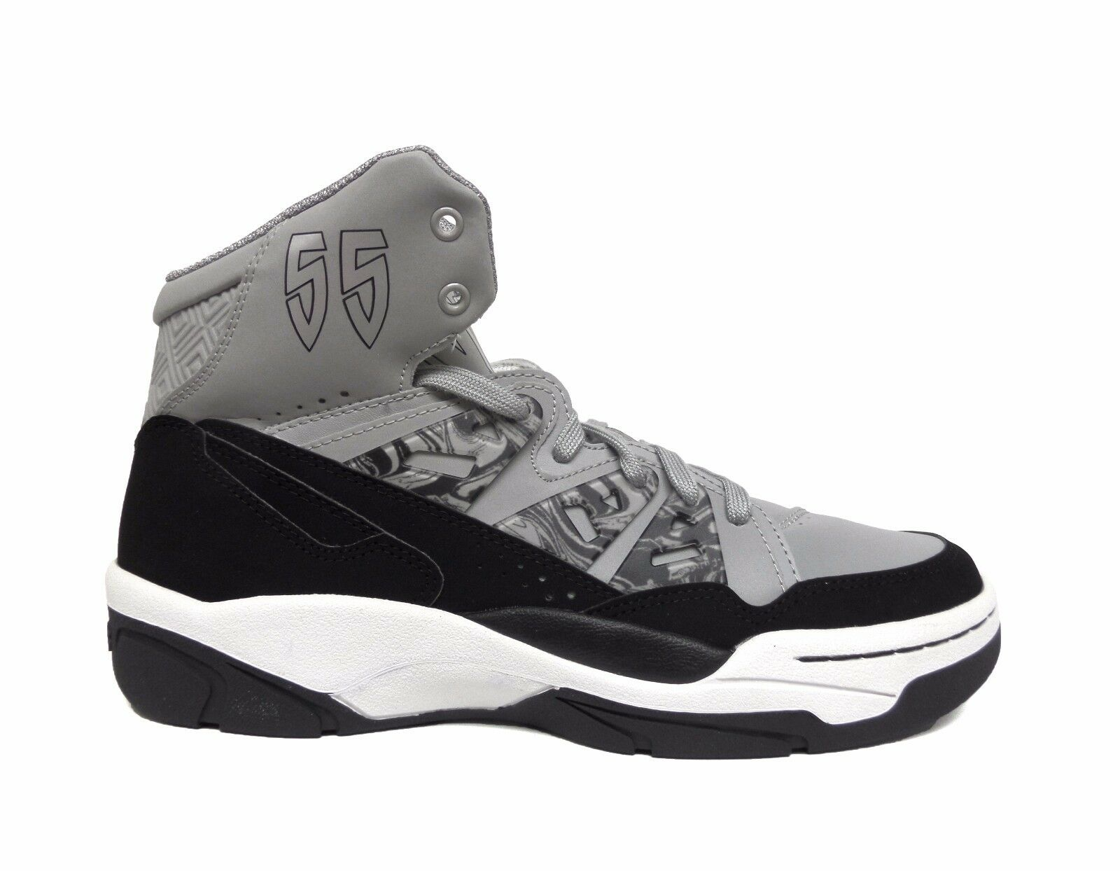 Adidas Men's Originals Mutombo Basketball Shoes Grey/Black C75209 a2