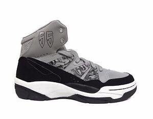 Adidas Men s Originals Mutombo Basketball Shoes Grey Black C75209 a2 ... cbdeaa101