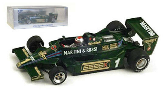 SPARK s1851 LOTUS 79 #1 4th Long Beach Gp 1979-Mario Andretti scala 1/43