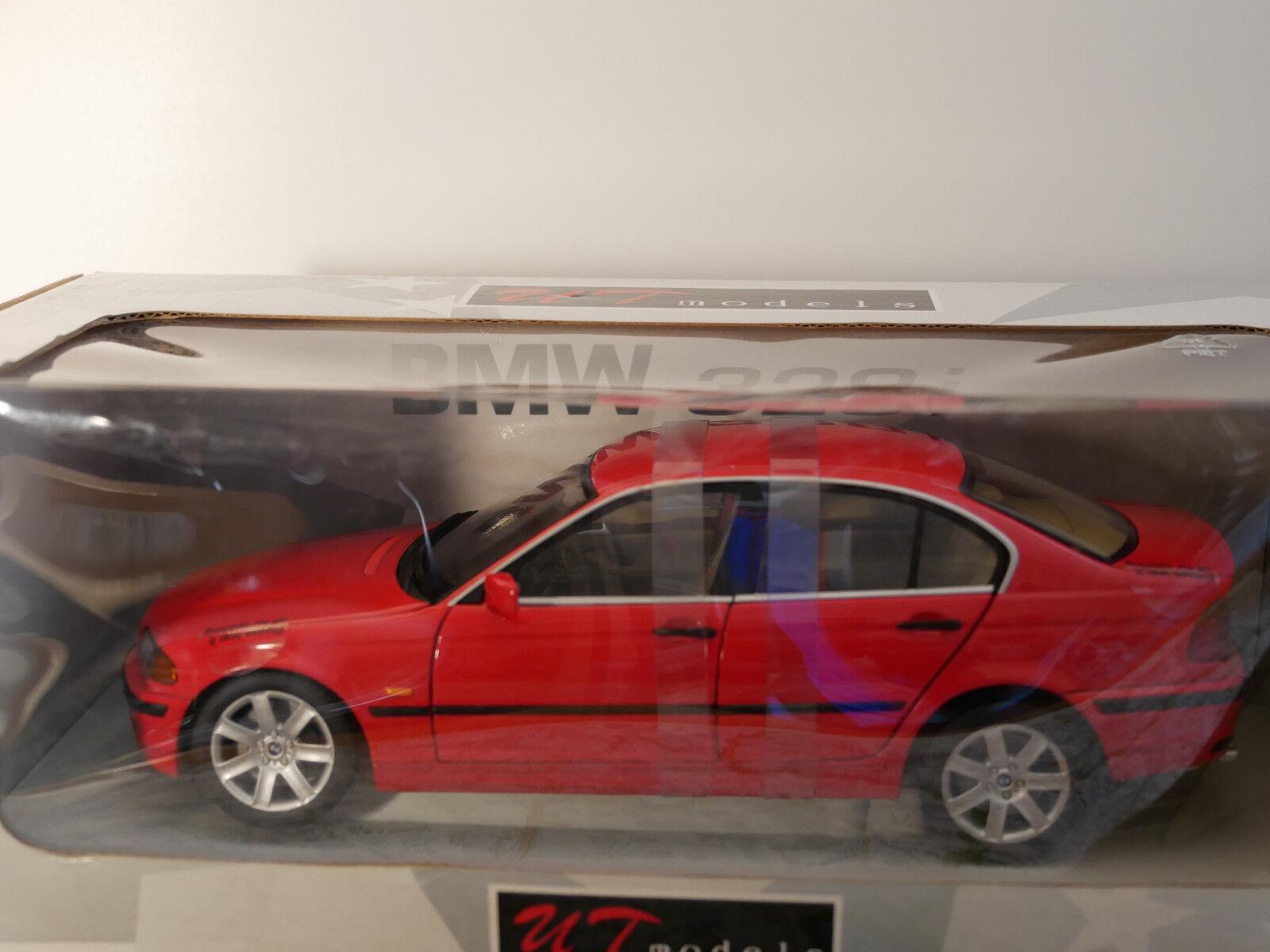 BMW 328i 1998 rosso UT MODELS  1  18  art.20511  RARE NEW