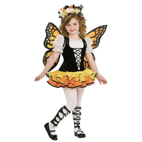Chicas Mariposa Monarca Animal Naturaleza Hadas Fancy Dress Costume Outfit