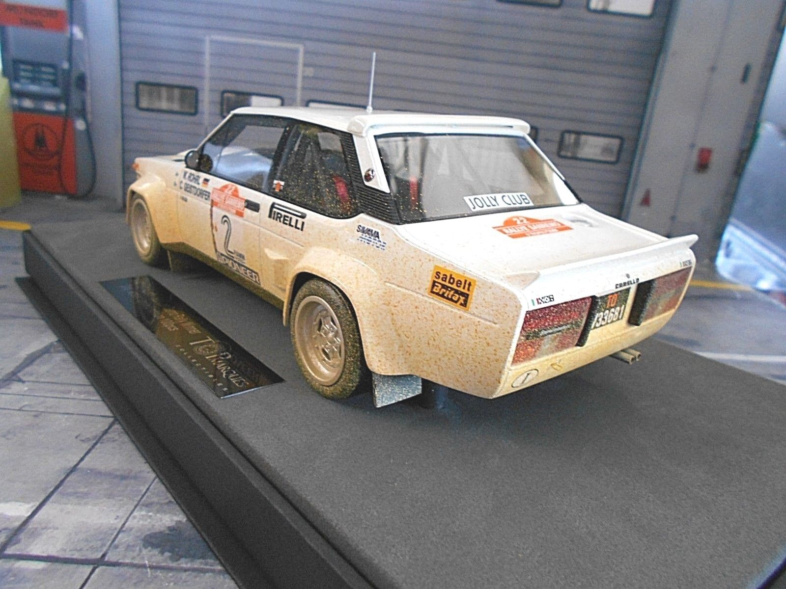 Fiat 131 Abarth Rallye San Remo Remo Remo 1980 Winner #2 Röhrl Dirty Royaume Top Marques 1:18 | Outlet Online Shop