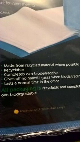 10 Pocket  Eco folder ;- A4 Folder Presentation Display Book