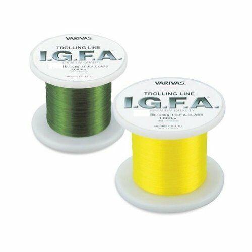 MORRIS VARIVAS I.G.F.A. Trolling Nylon 1000m 50lb verde Fishing LINE Japan New