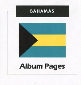 Bahamas-CD-ROM-Stamp-Album-1859-2016-Album-Pages-Classic-Stamps-Illustrated