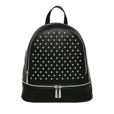 NEW Miss Shop Studded Backpack Black