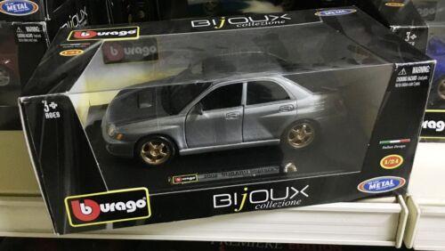 BBURAGO BURAGO BIJOUX 1//24 SUBARU IMPREZA WRX 2002 WRC Navarra Longhi Mc Rae