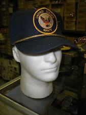 US NAVY BASEBALL CAP - DARK BLUE - MADE IN THE USA