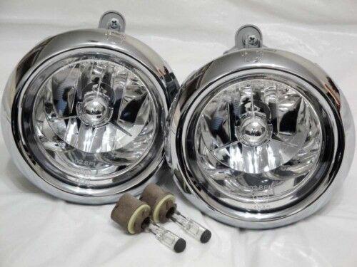 For 01-06 Santa Fe Driving Fog Light Lamp RL H One Pair W//2 Bulbs NEW