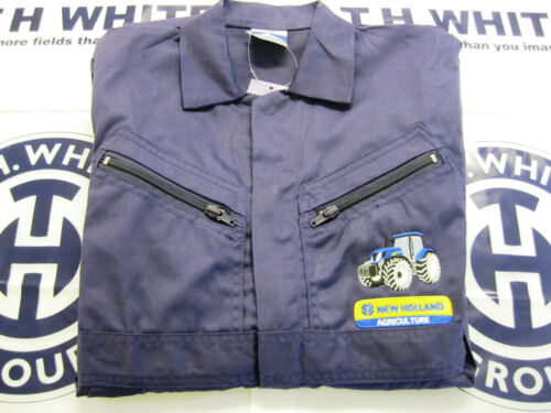 CHILDRENS PORTWEST OVERALLS EMBROIDERED NEW HOLLAND TRACTOR /& LOGO SS