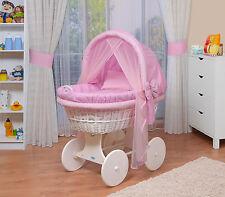 WALDIN Baby Bollerwagen,Stubenwagen XXL NEU !!! Rosa