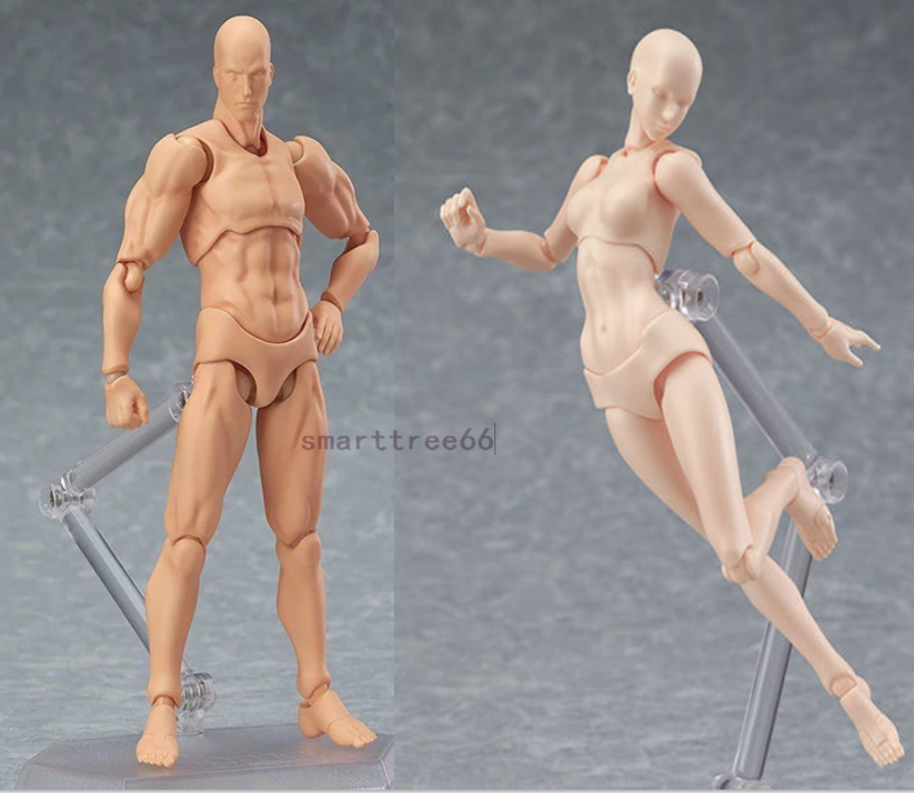 Suppyfly Body Chan /& Kun Doll Male Female DX Set PVC Movebale Action Figure Model for SHF Gifts